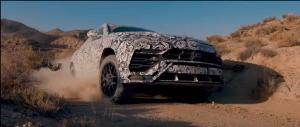 Η νέα Lamborghini Urus δοκιμάζεται στο χώμα λίγο πριν την πρεμιέρα της (βίντεο)