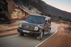 Η νέα Mercedes G-Class περνά από παντού