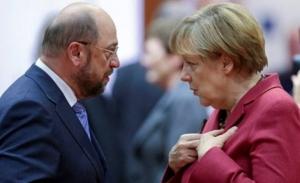 «Πράσινο φως» από το SPD για τις διαπραγματεύσεις Σουλτς με Μέρκελ
