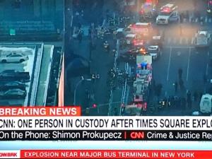 Έκρηξη σε κεντρικό σταθμό λεωφορείων στο Μανχάταν