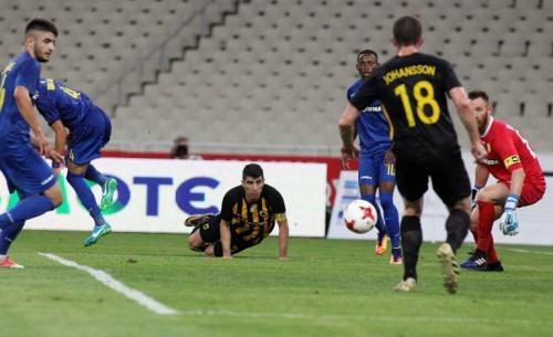 Ξεκίνημα με το δεξί για την ΑΕΚ, 2-0 τον Παναιτωλικό
