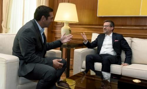 Συνάντηση του πρωθυπουργού με τον Επίτροπο Μοέδας