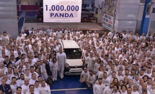 Το Fiat Panda ξεπέρασε το ορόσημο του ενός εκατομμυρίου