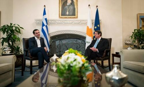 Αλ. Τσίπρας: Ελλάδα και Κύπρος αποτελούν πυλώνα σταθερότητας σε μια ασταθή περιοχή