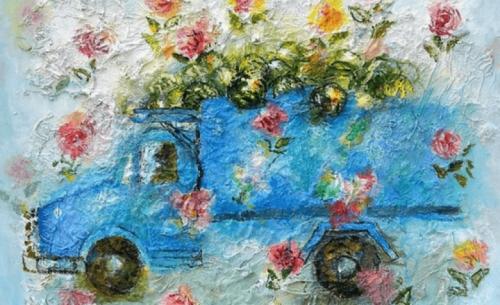 Βιωματική  ζωγραφική από το Γιάννη Κόττη