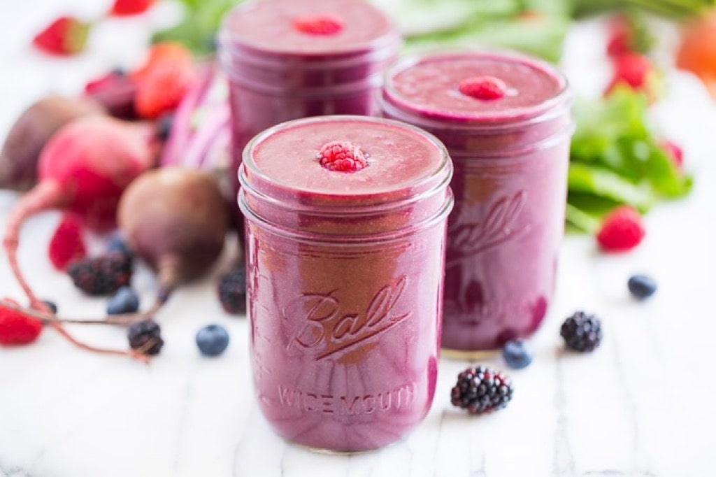 Glowing Berry Beet Smoothie Get Inspired Everyday 6 min