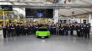 H Lamborghini Huracan έφτασε τις 10.000 μονάδες