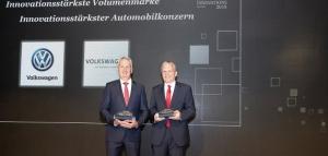 H Volkswagen βραβεύεται ως ο πιο καινοτόμος μεγάλος κατασκευαστής