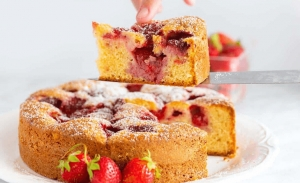Κέικ φράουλα