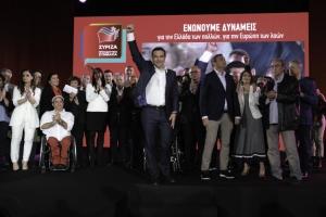 Αλ. Τσίπρας: Νίκη των προοδευτικών δυνάμεων σε όλη την Ευρώπη