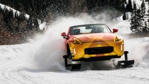Το Nissan 370Zki είναι ένα πρωτότυπο snowmobile!