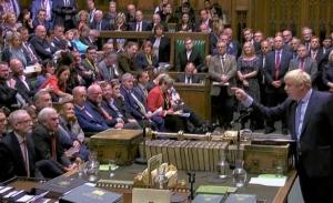 Τζόνσον: Υιοθετήστε τη συμφωνία για το Brexit για να ενωθεί και πάλι η χώρα