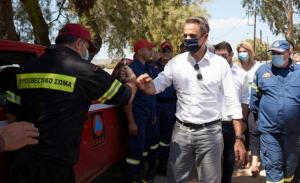 Αυτοψία Μητσοτάκη για την πρώτη αποτίμηση των ζημιών στις πληγείσες περιοχές της Θεσσαλίας
