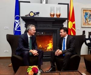 Στόλτενμπεργκ: Η Βόρεια Μακεδονία θα γίνει μέλος του ΝΑΤΟ πριν το τέλος του έτους
