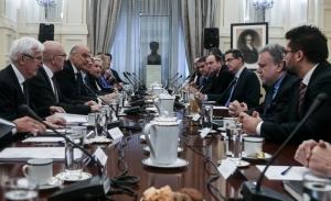 «Εθνική σύμπνοια» στο Εθνικό Συμβούλιο Εξωτερικής Πολιτικής έναντι Τουρκίας