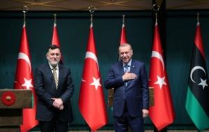 Ερντογάν: Τουρκία και Λιβύη προχωρούν στις έρευνες για πετρέλαιο στην αν. Μεσόγειο