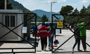 Με έλεγχο εισόδου η προσφυγική δομή στη Μαλακάσα