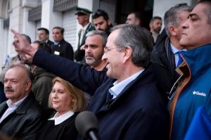 Σαμαράς: Τα εκατομμύρια των Ελλήνων είναι και θα είναι κατά της Συμφωνίας των Πρεσπών