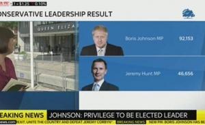 Ο ηγέτης του Brexit κέρδισε τη βρετανική πρωθυπουργία