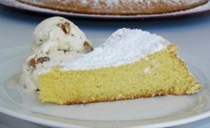 Κέικ αμυγδάλου χωρίς αλεύρι
