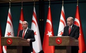 Ερντογάν σε Τατάρ: Πρέπει να τεθεί στο τραπέζι μια λύση δύο κρατών
