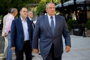 Συνάντηση Καραμανλή με τον υποψήφιο δήμαρχο Θεσσαλονίκης Ν. Ταχιάο