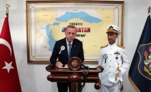 Ερντογάν: Όσοι νομίζουν ότι τους ανήκει ο πλούτος της Κύπρου θα βρεθούν αντιμέτωποι