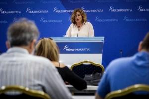 Σπυράκη: Τσίπρας και Παππάς επιμένουν να τηρούν σιγήν ιχθύος για τη στενή σχέση τους με τον Πετσίτη