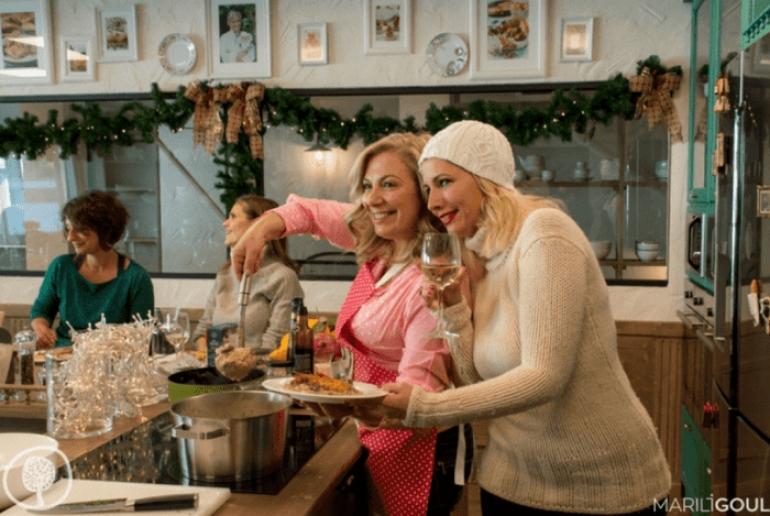 Τα Μαθήματα Μαγειρικής με τη σεφ  Ντίνα Νικολάου επιστρέφουν στη Yoleni's