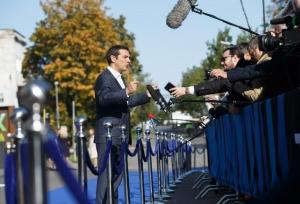 Στις Βρυξέλλες για τη Σύνοδο του Ευρωπαϊκού Συμβουλίου ο Αλ. Τσίπρας