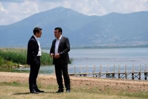 «Οχι» λέει στη Συμφωνία των Πρεσπών το 54,1% των Σκοπιανών