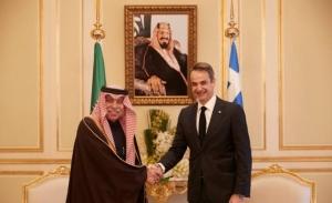 Σε φόρουμ για τις ανανεώσιμες πηγές ενέργειας στη Σ.Αραβία, ο Μητσοτακης