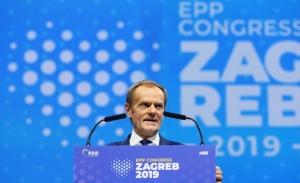 Χωρίς αντίπαλο εξελέγη ο Τουσκ πρόεδρος του Ευρωπαϊκού Λαϊκού Κόμματος