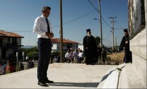 Δωρεές 11 εκ. ευρώ από την Κύπρο ανακοίνωσε ο Μητσοτάκης στο Μάτι - Ο Τσίπρας στην Κω