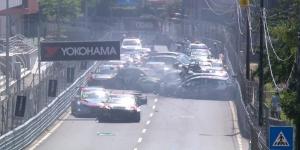 WTCR: φοβερή καραμπόλα σε αγώνα WTCR (Video)