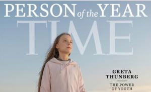 Η Γκρέτα Τούνμπεργκ «Πρόσωπο της Χρονιάς» σύμφωνα με το Time