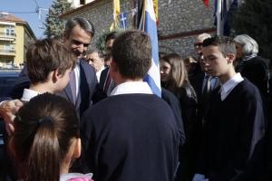 Μητσοτάκης: Η ΝΔ δεν θα ψηφίσει τη συμφωνία των Πρεσπών ούτε στην επόμενη Βουλή