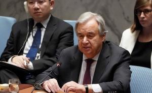 Μία απονευρωμένη έκκληση για εκεχειρία λόγω πανδημίας απηύθυνε το Σ.Α. του ΟΗΕ