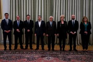 Ορκίστηκαν οι 6 νέοι υπουργοί της κυβέρνησης