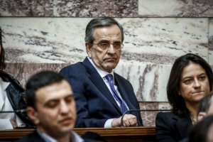Σαμαράς: Ο Τσίπρας έδωσε Μακεδονία και μεταναστευτικό για μια γραβάτα