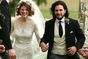 Ο Κιτ Χάρινγκτον και η Ρόουζ Λέσλι παντρεύτηκαν
