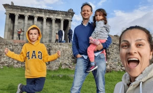 Ταξιδεύοντας στο τέλος του κόσμου με παιδιά
