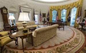 O Λευκός Οίκος της προεδρίας Τραμπ στην έκθεση Μιούλερ