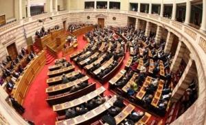 Εφ' όλης της ύλης συζήτηση σε επίπεδο αρχηγών στη βουλή (απευθείας μετάδοση)