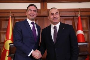 Τσαβούσογλου: Θα αναγνωρίζουμε την «Μακεδονία» με την συνταγματική της ονομασία