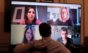 Τηλεδιάσκεψη κυβέρνησης - Google για πολιτισμό και ψηφιακές δεξιότητες
