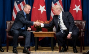 Επικοινωνία Ερντογάν - Τραμπ για τη Συρία