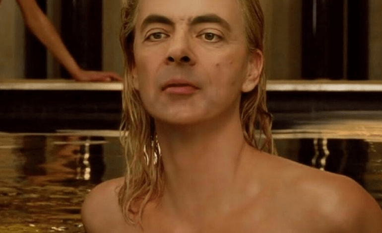 Ο Mr Bean ως… Charlize Theron
