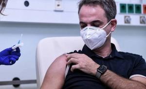 Εκκληση Μητσοτάκη για αύξηση της προσέλευσης στους εμβολιασμούς