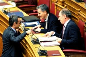 Μητσοτάκης: Ο Τσακαλώτος παραδέχτηκε ότι τα πλεονάσματα του καταστρέφουν την οικονομία